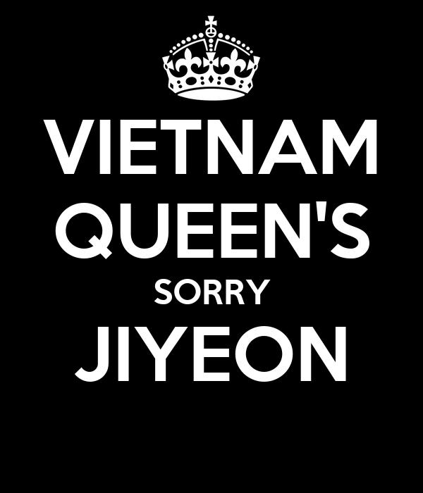 VIETNAM QUEEN'S SORRY JIYEON