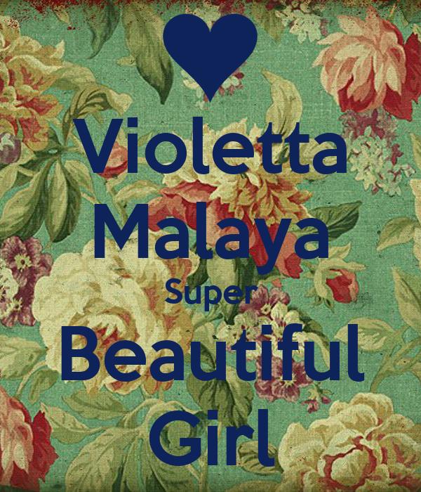 Violetta Malaya Super Beautiful Girl