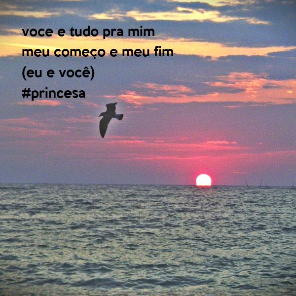 voce e tudo pra mim meu começo e meu fim (eu e você) #princesa
