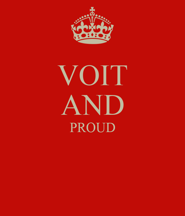 VOIT AND PROUD