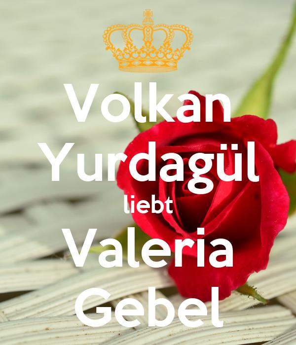 Volkan Yurdagül liebt Valeria Gebel