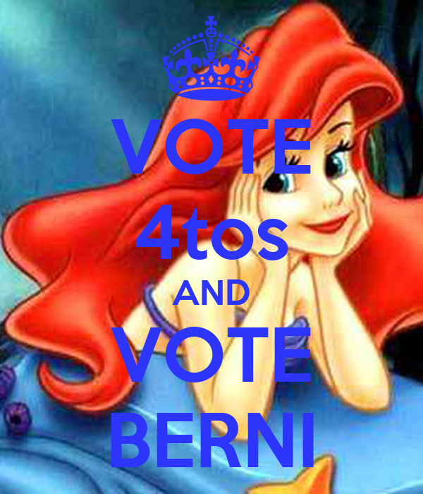 VOTE 4tos AND VOTE BERNI