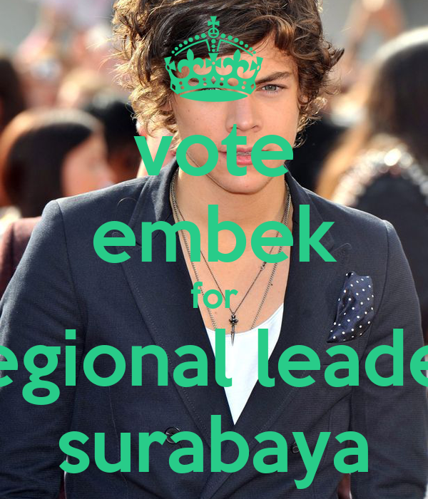 vote embek for regional leader surabaya