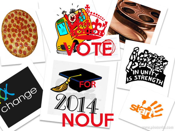 VOTE  FOR   NOUF