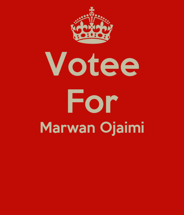 Votee For Marwan Ojaimi