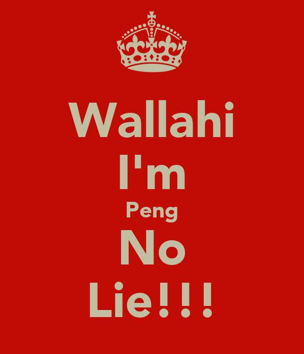 Wallahi I'm Peng No Lie!!!