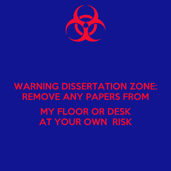 What is dissertation zone