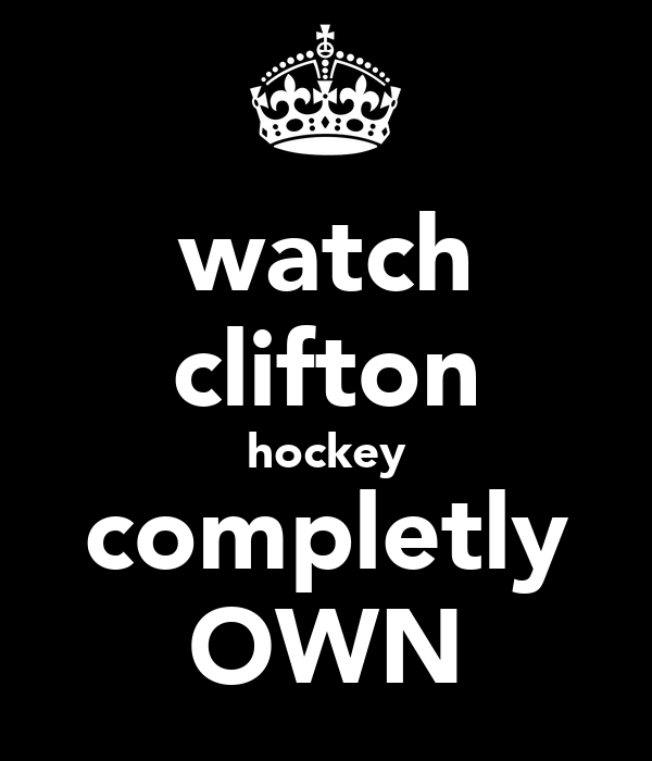 watch clifton hockey completly OWN