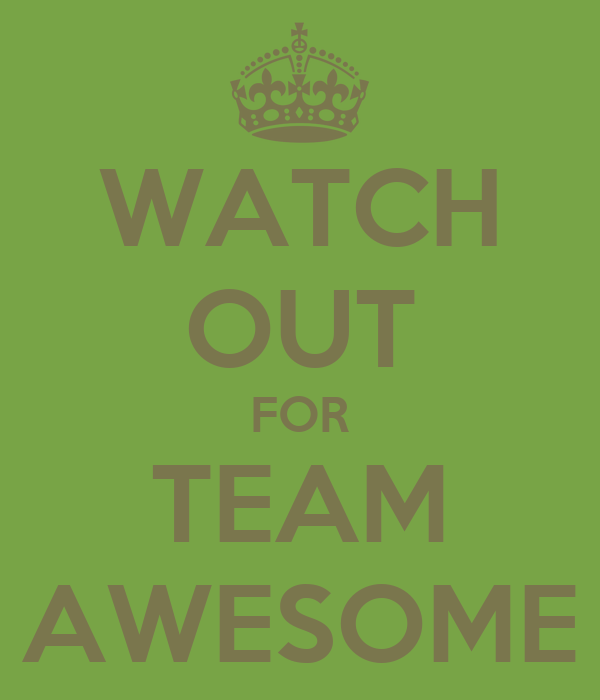 Amazing Team: Team Awesome Images