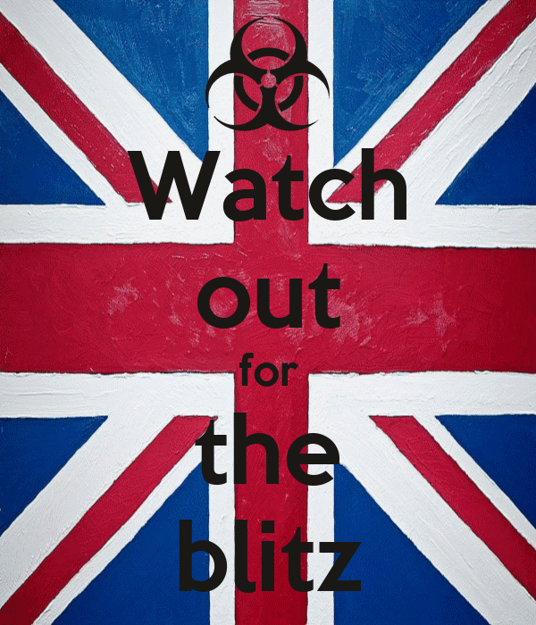 Watch out for the blitz