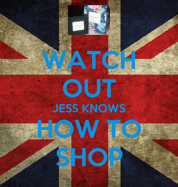 WATCH OUT JESS KNOWS HOW TO SHOP