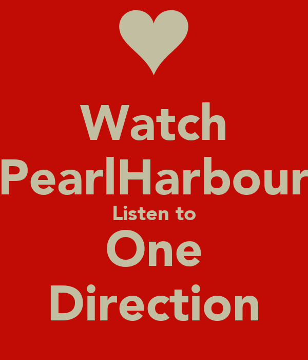 Watch PearlHarbour Listen to One Direction