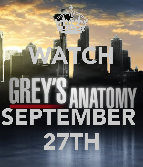 WATCH   SEPTEMBER  27TH
