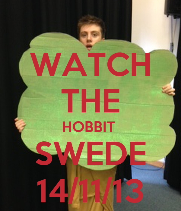 WATCH THE HOBBIT  SWEDE 14/11/13