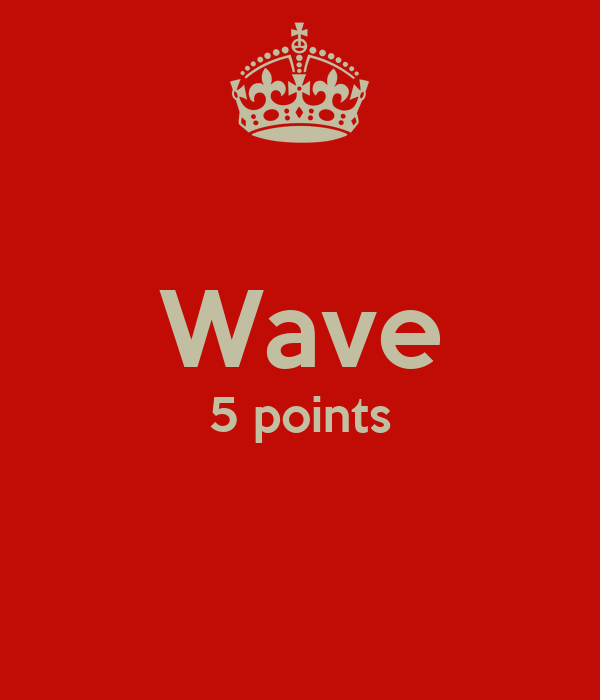Wave 5 points