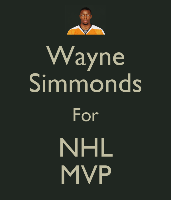 Wayne Simmonds For NHL MVP