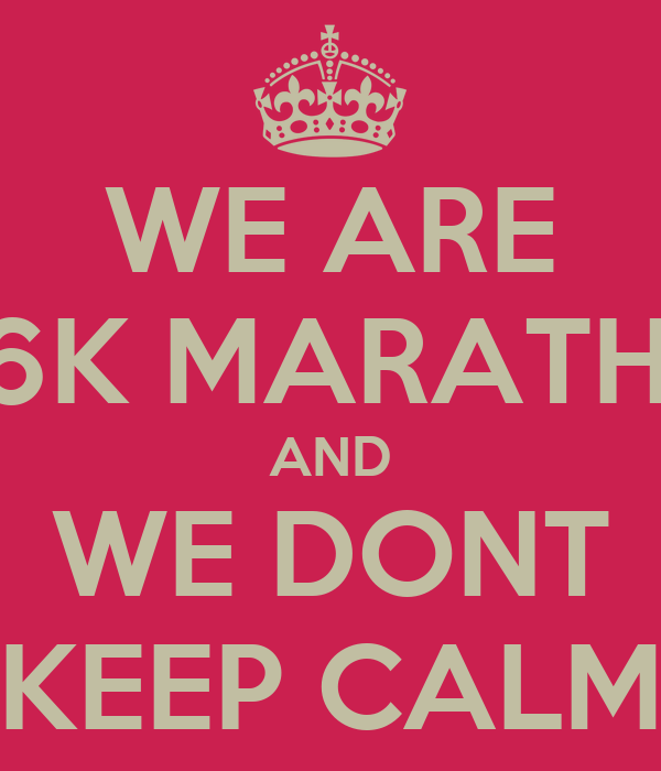 WE ARE 96K MARATHA AND WE DONT KEEP CALM