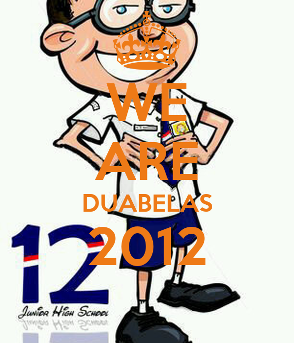 WE ARE DUABELAS 2012