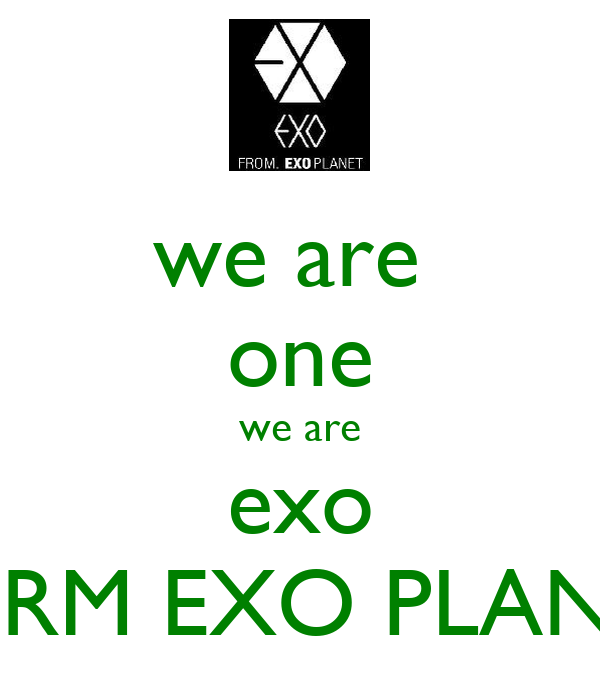 we are  one we are exo FORM EXO PLANET