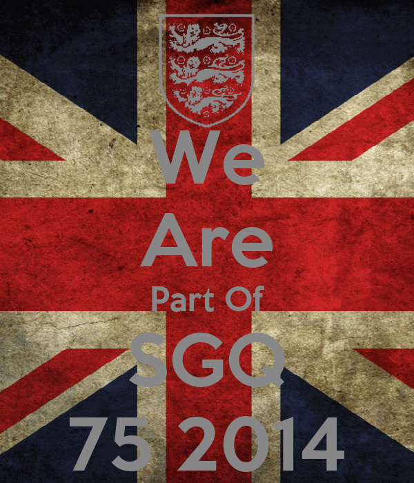 We Are Part Of SGQ 75 2014