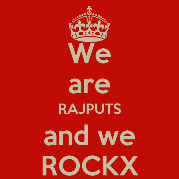 We are RAJPUTS and we ROCKX