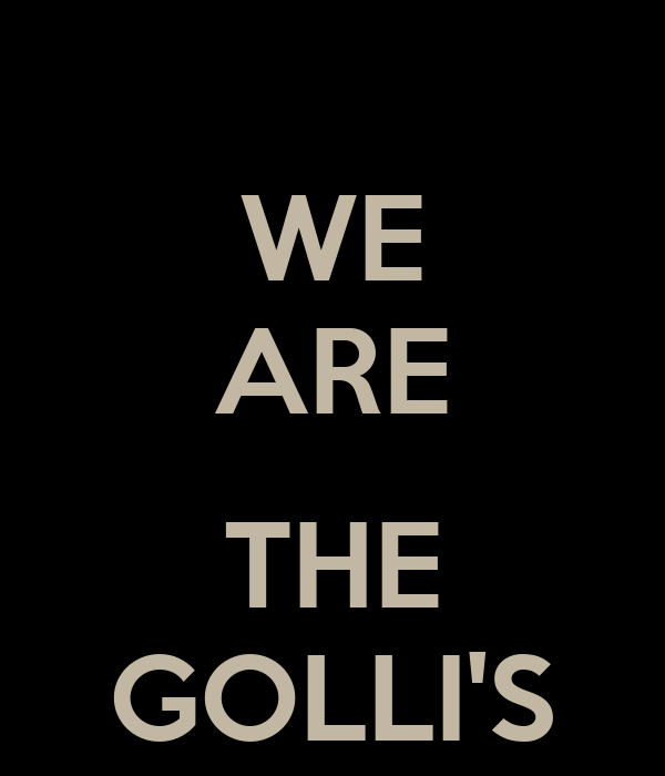 WE ARE  THE GOLLI'S