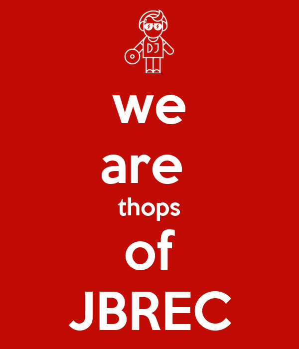 we are  thops of JBREC