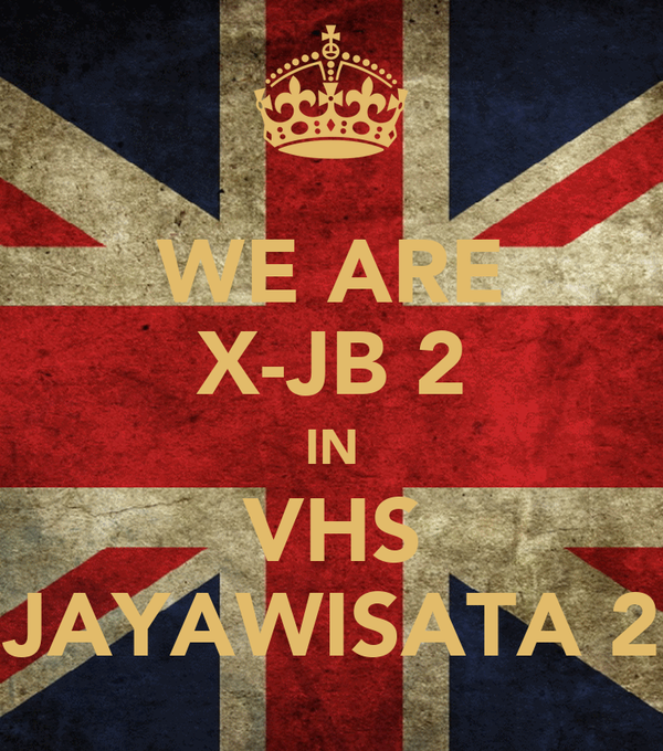 WE ARE X-JB 2 IN VHS JAYAWISATA 2
