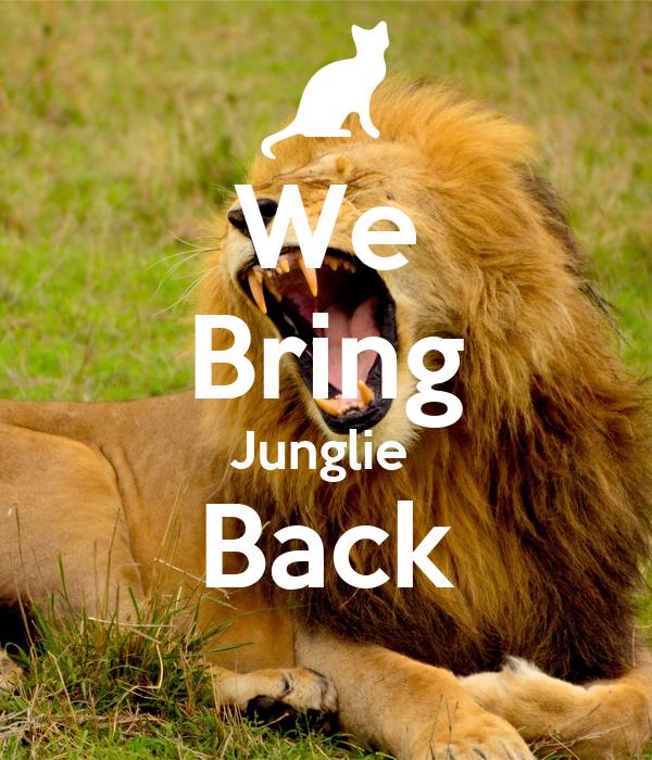 We Bring Junglie  Back