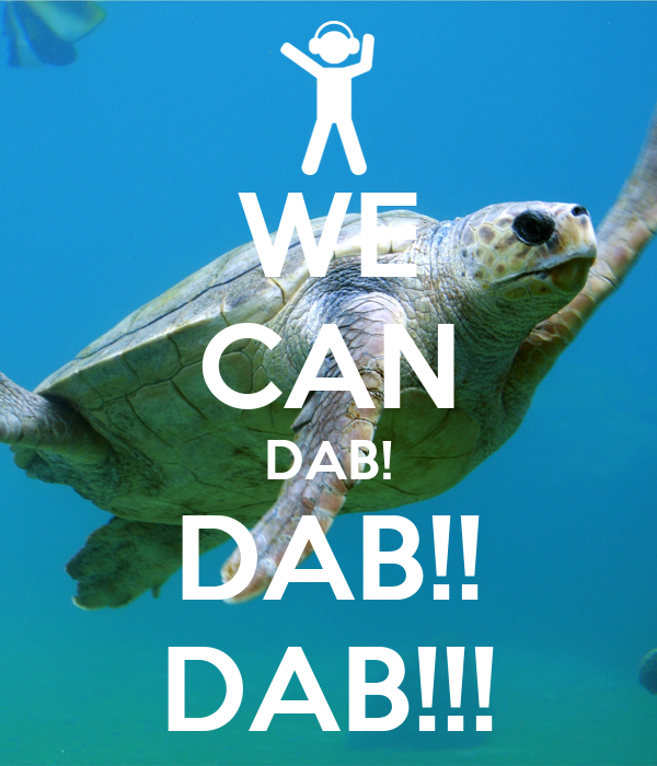 WE CAN DAB! DAB!! DAB!!!