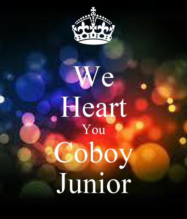 We Heart You Coboy Junior