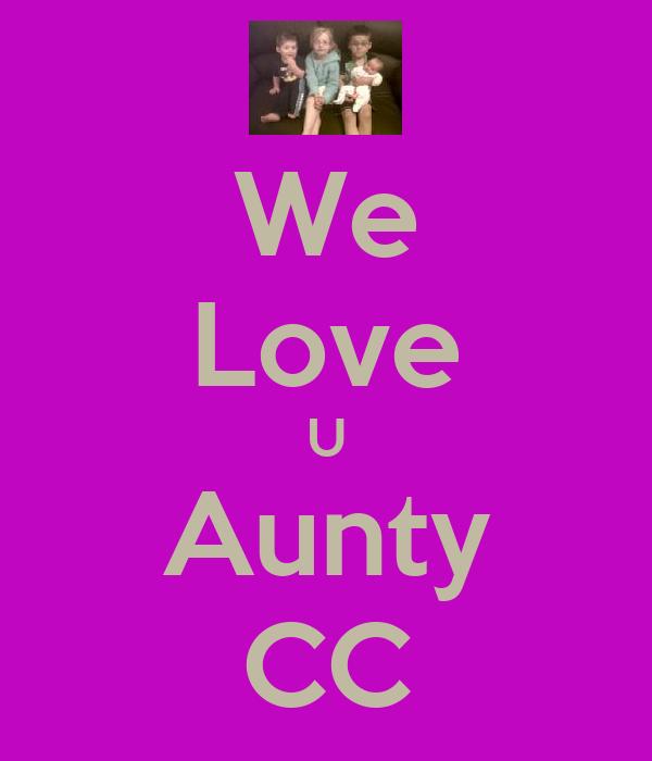 We Love U Aunty CC