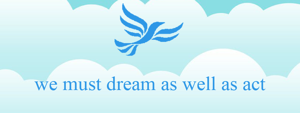 we must dream as well as act