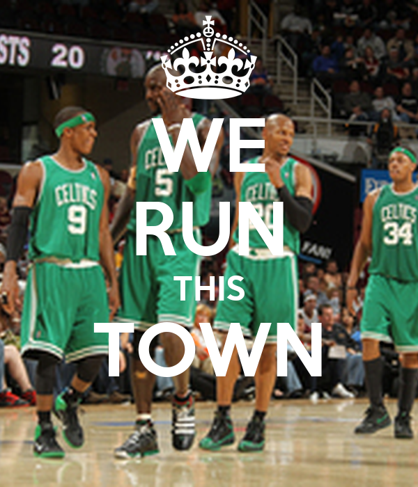 WE RUN THIS TOWN