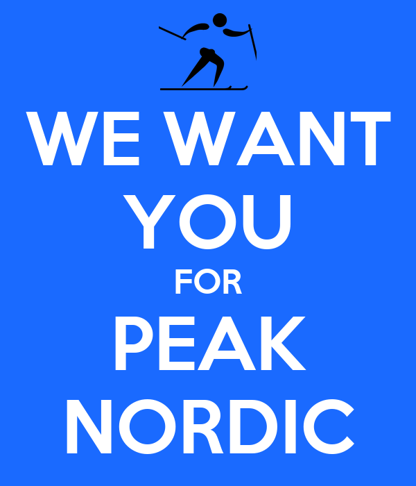 WE WANT YOU FOR PEAK NORDIC