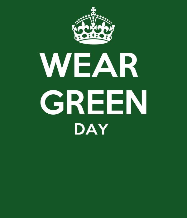 WEAR  GREEN DAY