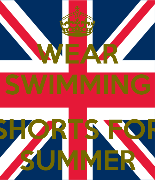 WEAR SWIMMING  SHORTS FOR SUMMER
