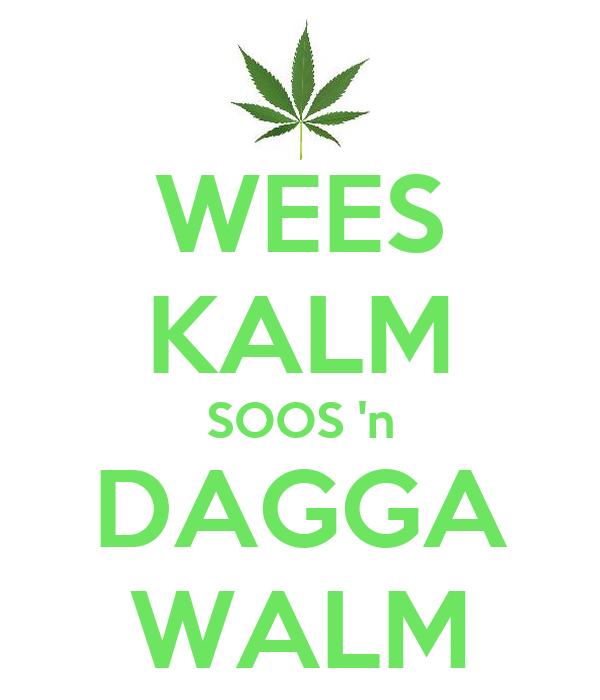 WEES KALM SOOS 'n DAGGA WALM