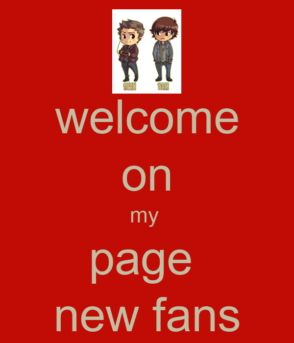 welcome on my  page  new fans