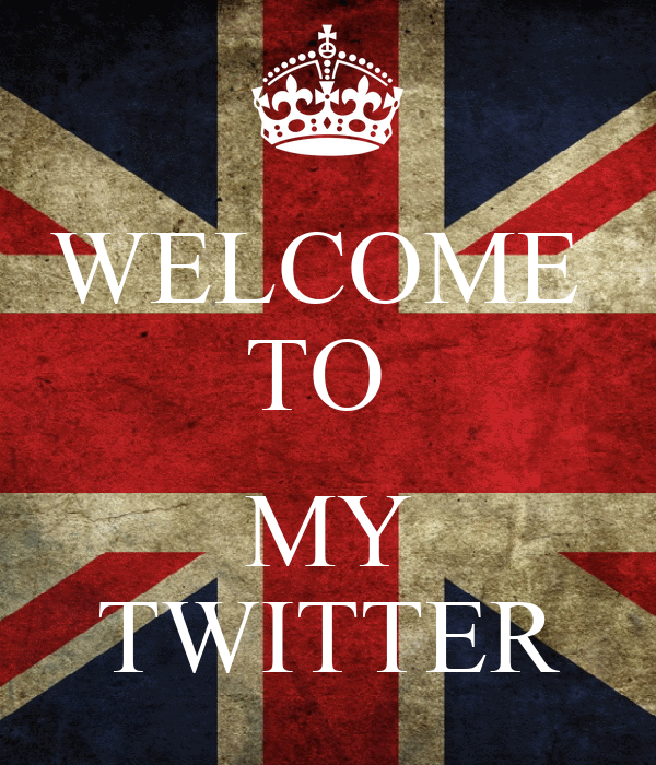 WELCOME  TO   MY TWITTER