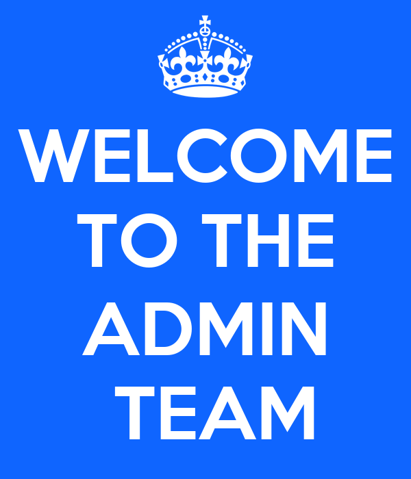 welcome to the admin team poster dee keep calm o matic