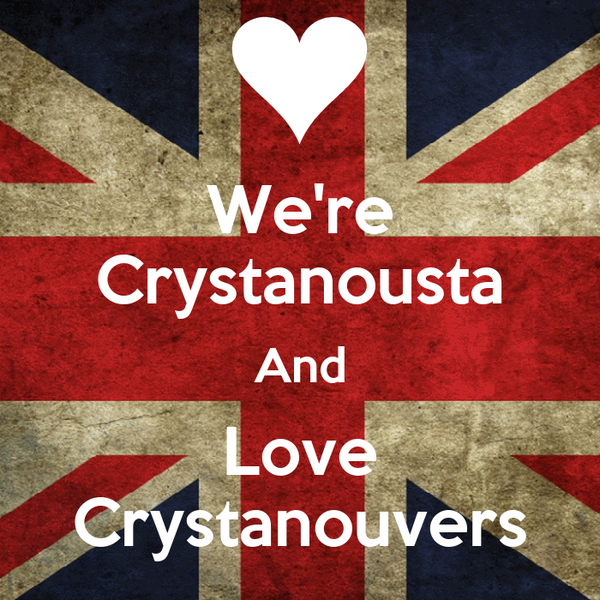 We're Crystanousta And Love Crystanouvers