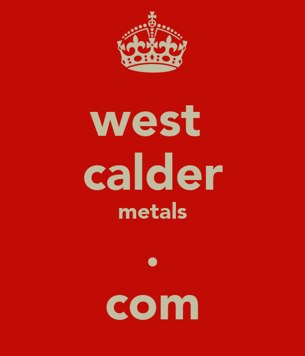 west  calder metals . com