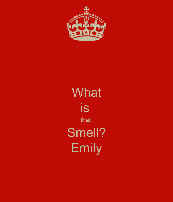 What is  that  Smell? Emily