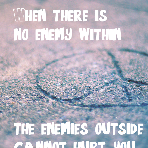 no enemies