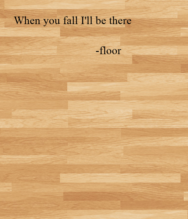 When you fall I'll be there