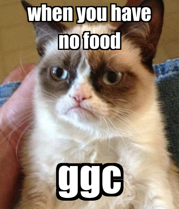 when you have no food ggc