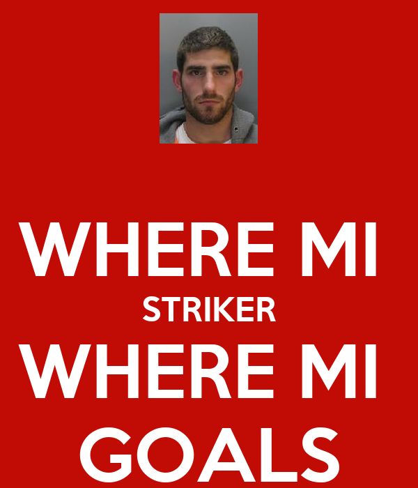 WHERE MI  STRIKER WHERE MI  GOALS