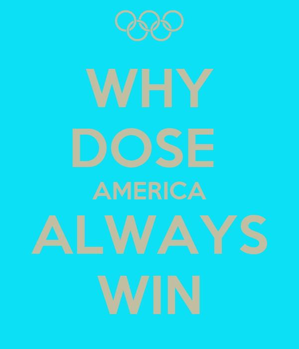 WHY DOSE  AMERICA ALWAYS WIN