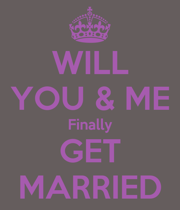 WILL YOU & ME Finally GET MARRIED